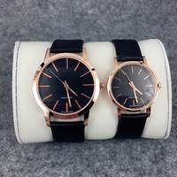 Wholesale designer fashion drop shipping - 2017 Fashion Women Classic watch genuine leather Famous designer wristwatch gentleman Quartz Hign Quality Japan Movement Clock drop shipping