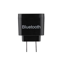 Wholesale Usb Bluetooth Music - car New Mini Portable Bluetooth 3.0 Stereo Audio Music Receiver Adapter with 3.5mm Audio Port USB EU Wall Charger