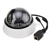 Wholesale 3g Network Cameras Outdoor - 1pcs 480p Surveillance camera,P2P IP,vandal-proof , Security network 22 IR LED light support for Iphone, 3G phone NIP-012OAM