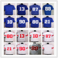 1da536b48 13 Odell Beckham Jr 10 Eli Manning 90 Jason Pierre-Paul 80 Victor Cruz 21  Landon Collins 87 Sterling Shepard jersey elite jerseys ...