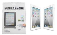 ipad mini lcd bildschirme großhandel-LCD Screen Protector Clear Matte Screen Film Guard Schutz mit Kleinpaket für Ipad Mini 3 4 Ipad 2 3 4 5 6 Air 2 Ipad Pro 9.7 10.5