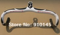 Wholesale Carbon Road Bike Discount - Wholesale-Special discount ! Free Shipping! 2015 New SYNERGY GHEPARDO Integrated Handlebar with Internal cable 420 440 x 100 110 120 130mm