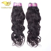 Wholesale top quality virgin human hair for sale - Hot selling pc Natural Wave Brazialian virgin hair Malaysian Peruvian Indian Mongolian human hair top quality unprocessed hair extensions