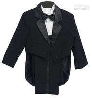Wholesale Images Boy Accessories - 2015 New Arrival Stylish Christmas Wedding Dress Boy Suit Groom Wear & Accessories Boys' Attire Groom Tuxedos(3 pieces  set)