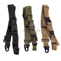 Wholesale Sling Point - 1pc Tactical 3 Point Quick Detach Sling Strap Transition Release For M4 M16 Rifle