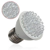 Wholesale Grow Light 2w Led - New E27 2W 38 LED Energy Saving Red Blue Hydroponic Plant Grow Light Bulb