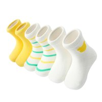 Wholesale Combed Cotton Child Sock - Autumn and winter combed cotton children socks C582