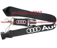 Wholesale Cars Lanyards - Wholesale - 10pcs New Design polyester Auto Car Logo Style lanyards Key for kid