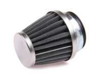 Wholesale Motorcycle Cone Air Filters - New All Motorcycle Parts Chrome Power Scooter Cone race Air Filter 42MM Air Intake Adapter Free Shipping