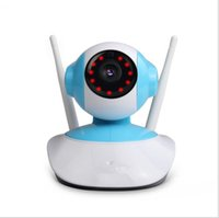 Wholesale wireless webcam baby monitor for sale - Group buy Wireless WiFi Security Camera System MP P HD Pan Tilt IP Network Surveillance Webcam Baby Monitor Audio Built in Microphon