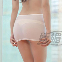 Wholesale Tight Casual Skirts - Wholesale- HOT Sexy Tight Pencil Cute Skirt See Through Micro Mini Skirt Transparent Night Club Skirt Fantasy Erotic Wear Candy colors