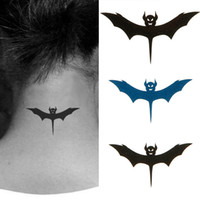 Wholesale Temporary Bat Tattoos - New Fashion Design Temporary Tattoos Body art Tattoo Stickers cartoon waterproof styles High Quality bat