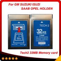 Wholesale Tech2 Suzuki Card - High quality gm tech2 card 32MB for 6 Softwares opitional GM OPEL ISUZU SUZUKI OPEL HOLDEN SAAB also for empty card