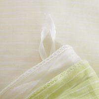 juego de edredón de cama queen verde al por mayor-Al por mayor-Deer Bedding Set Césped Verde y Beige Home Textiles Plain Printed 100% Cotton Comforter Set 4 Unids Queen El nuevo listado