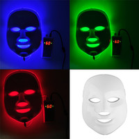 Home Gesichtsbehandlungen Für Akne Kaufen -Koreanische LED Photodynamische Gesichtsmaske Home Use Schönheit Ausrüstung Anti-Akne Haut Verjüngung LED Photodynamische Masken 3Colors Lights 0602011