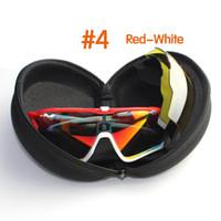 Wholesale Sunglasses Lens Sport Goggle Cycling - New Polarized Cycling Glasses Racing Sport Cycling Sunglasses 3 Lens set cycling eyewear bike bicycle Glasses Men Women UV400 best quality.