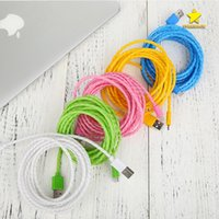 Wholesale Android Jelly - Jelly Cable Phone Charger Cable 1m 3FT Micro USB V8 Cable for Android Samsung Type C