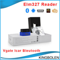 Wholesale Car Engine Support - High Quality Vgate iCar3 Bluetooth Elm327 Code Reader Support All OBDII Protocols Cars iCar 3 Scan for Android  IOS PC DHL Free shipping