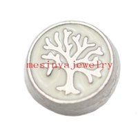 Wholesale Wholesale Items Min - Wholesale-10pcs life TREE floating charms for glass locket,FC-031.Min amount $15 per order mixed items