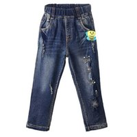 Wholesale cute trousers for sale - Group buy Pettigirl Retail New Arrival Girls Casual Jeans With Cute Bee Pattern Autumn Kids Trousers Children Clothes PT81016