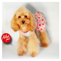 Wholesale Bare Bikini - Wholesale-2015 new fashion dog clothes polka-dotted bare-midriff suit bikini