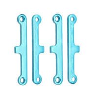 Wholesale Hsp Truggy - 2 Set 02173 Upgrade Parts Blue Aluminum Suspension Arm Pad for HSP 1 10 Car Buggy ATV Truck Truggy Cars order<$18no track