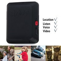Wholesale Gps Voice Recorder - 2016 SOS Spy x009 Locator Remote GSM GPS Tracker X009 SPY DVR Camera Listening Device Video and Voice Recorder Camera with SOS Function
