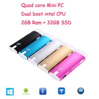 ssd manufacturers - Manufacturer Intel Windows mini pc quad core GB RAM GB SSD Andriod Z3735F dual boot TV dongle