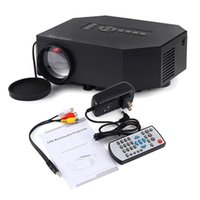 Wholesale Banks Education - Wholesale- UC30 Portable Mini 1080P HD LED LCD outdoors Projector beamer, Support PC TV Laptop HDMI VGA SD USB AV powered by power bank