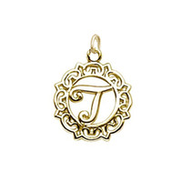 Wholesale Greek Letters Charms - Free shipping New Fashion Easy to diy 20pcs silver rhodium gold filled Greek letter J charms diy bracelets jewelry making fit for necklace o