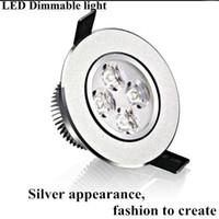 kısılabilir led paneller toptan satış-Yüksek Güç Dim 9 W 12 W 15 W Led Gömme Tavan Işıkları Duvar Işık sıcak / saf / soğuk beyaz Led Downlight LED Panel Işık Lambası