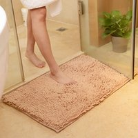 Wholesale Grounds For Sale - Rectangle Chenille Carpets Waterproof Non Slip Ground Mat For Home Living Room Bathroom Footcloth Factory Direct Sale 6 9jy B