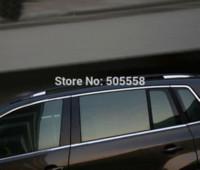 Wholesale Vw Rack - FOR 2010-2015 VW TIGUAN VW VOLKSWAGEN TIGUAN ROOF RACK TRIM COVER STICKER STAINLESS STEEL BEZEL AUTO ACCESSORIES M24311