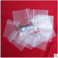 po sacs en plastique zip lock achat en gros de-Livraison gratuite en gros! Sacs d'emballage! 1000pcs / lot (4cm * 6cm) sachets en plastique refermables clairs, sacs de serrure de fermeture éclair de PE. Épaisseur: 0.05mm