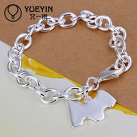 Wholesale Classy Factory - mix order 4 pieces a lot sterling silver bracelet DFM271 Free Shipping Latest Women Classy Design 925 silver bracelet Factory Direct Sale
