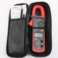 uni t klemmen großhandel-UNI-T UT204A Digitalzangen Multimeter Auto Range Temperatur AC DC Stromzangen Meter UT 204A Amperemeter Voltmeter