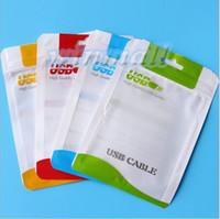 kopfhörer ladegerät pack einzelhandel großhandel-DHL Kleinpaket-Beutelkästen für Handy-Aufladeeinheits-Mikro-USB-Kabelsynchronisierungskabelaudiokopfhörer iphone 6 plus Samsung S6 Verpackung