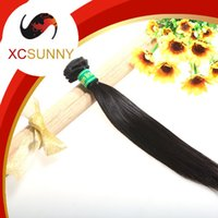 Wholesale Buy Hair Sales - XCSUNNY 6A Buy Brazilian hair Sale 1pcs Straight Cheap Brazil Hair Extensions Brazilian Weave Wholesale Virgin Hair Extension