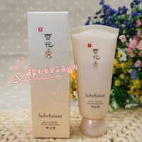Wholesale Ginseng Skin - Wholesale-Counter purchasing sulwhasoo Sulwhasoo White Ginseng Revitalizing Scrub Mask 80ml sensitive   dry skin available