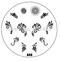 Wholesale Manicure Beauty Care Images - Wholesale-HOTSALE A Series A46 Nail Art Polish DIY Stamping Plates Image Templates Nail Stamp Stencil Manicure Care Beauty Designs Tools