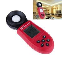 Wholesale Digital Lux Meter Professional - 200,000 Lux Digital Light Meter Luxmeter Meters Luminometer Photometer FC WS Professional Illuminance Light Meter Illuminometer order<$18no