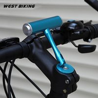 Wholesale Extension Xenon - T Frame Bicycle Handlebar Extensions Adapter Frame Bicycle Handlebar Lamp Cycling Computer Clip Holde Light Extensions Frame