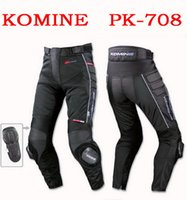 Wholesale Summer Motorcycle Pants - 2015 summer new models Japan's KOMINE PK-708 mesh motorcycle pants motorbike racing pants Anti-wrestle trousers anti wrestle black color