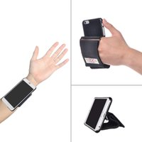 Wholesale iphone case hand holder - TFY Hand Strap Holder with Case Cover Stand for iPhone 6   iPhone 6 Plus