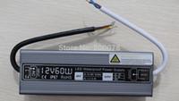 spannungsschalter netzteil großhandel-IP67 60W imprägniern Transformator-DC 12V konstante Spannungs-Schaltnetzteil-Fahrer für LED-Licht
