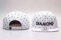 HOT estilo diamante SUPPLY CO Snapback Hip hop chapéu de beisebol ajustável bonés