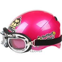 """Wholesale Helm Scooter - Wholesale-B.78 Taiwan """" EVO """" 1 2 ABS Half Face Scooter Safety Helm Cycling Casco Scooter """" Motor Monkey """" Rose Helmet"""
