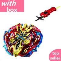 beyblade spielzeug großhandel-Beyblade Burst Starter Zeno Excalibur .M .I (Xeno Xcalibur .M .I) Mit Launcher Beyblade Spinner Spielzeug