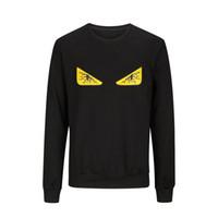 Wholesale Chest Clothes - Fashion Men Hoodie Chest bloodshot eyes Sweatshirt Men Autumn Mens Hoodies And Sweatshirts O-Nekc Casual Brand-Clothing