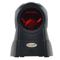 ingrosso laser sensore-All'ingrosso-IOBC029 1D Laser vivavoce Auto Sensor Barcode Scanner Desktop Omnidirezionale Piattaforma di codici a barre Scanner fissi